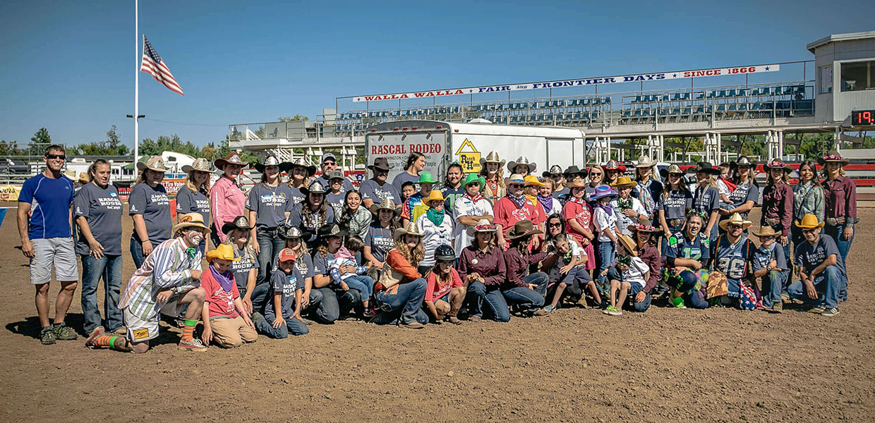 participants in a rodeo